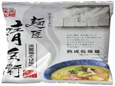 藤原製麺 埼玉ラーメン麺匠清兵衛淡麗鶏そば塩味