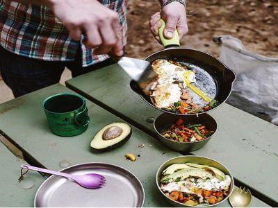 ソロキャンプ 自分だけの朝食
