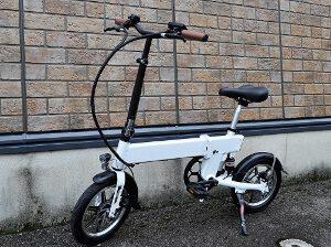 折りたたみ14インチ電動アシスト自転車 リチウム電池仕様
