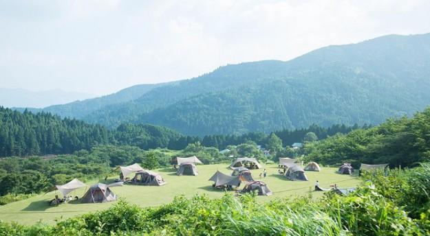奥日田キャンプフィールド(大分)